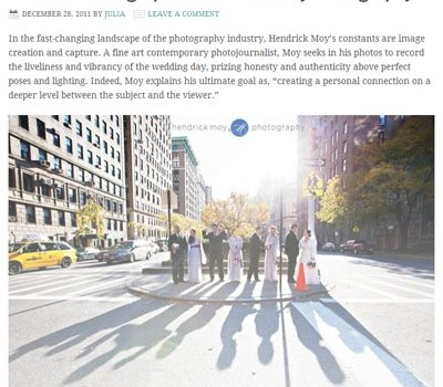 FEATURED ON WEDDINGPHOTOGRAPHY.ORG | NYC WEDDING PHOTOGRAPHER