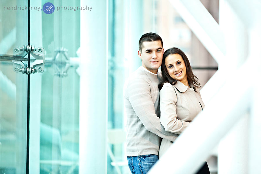 Stevens Institute New Jersey Engagement Session 1 CAROLINE AND JUSTIN'S STEVENS INSTITUTE ENGAGEMENT SESSION | HOBOKEN, NJ WEDDING PHOTOGRAPHER