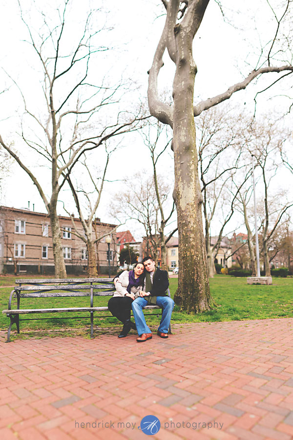 Stevens Institute New Jersey Engagement Session 13 CAROLINE AND JUSTIN'S STEVENS INSTITUTE ENGAGEMENT SESSION | HOBOKEN, NJ WEDDING PHOTOGRAPHER