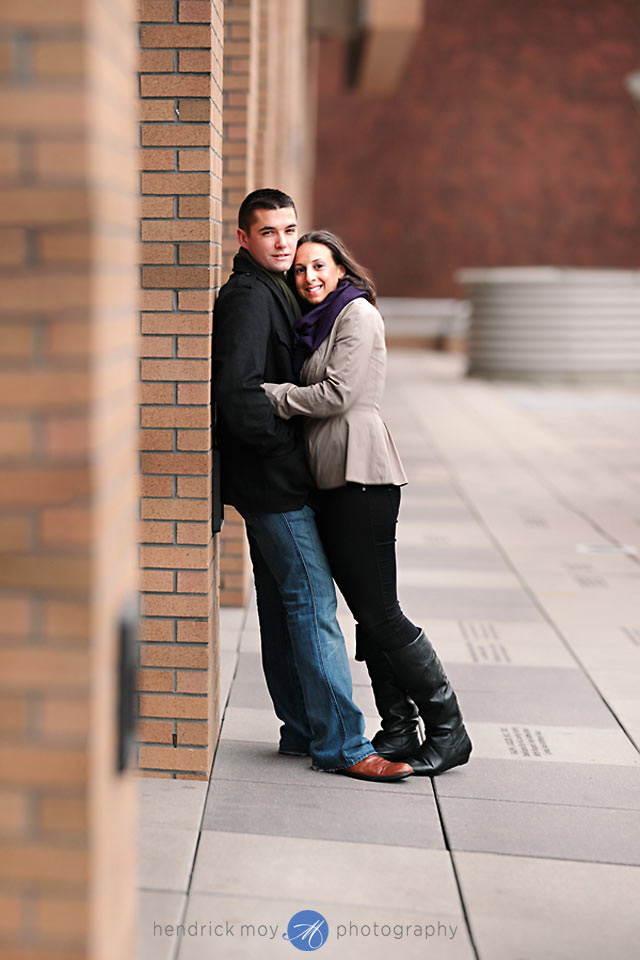 Stevens Institute New Jersey Engagement Session 5 CAROLINE AND JUSTIN'S STEVENS INSTITUTE ENGAGEMENT SESSION | HOBOKEN, NJ WEDDING PHOTOGRAPHER