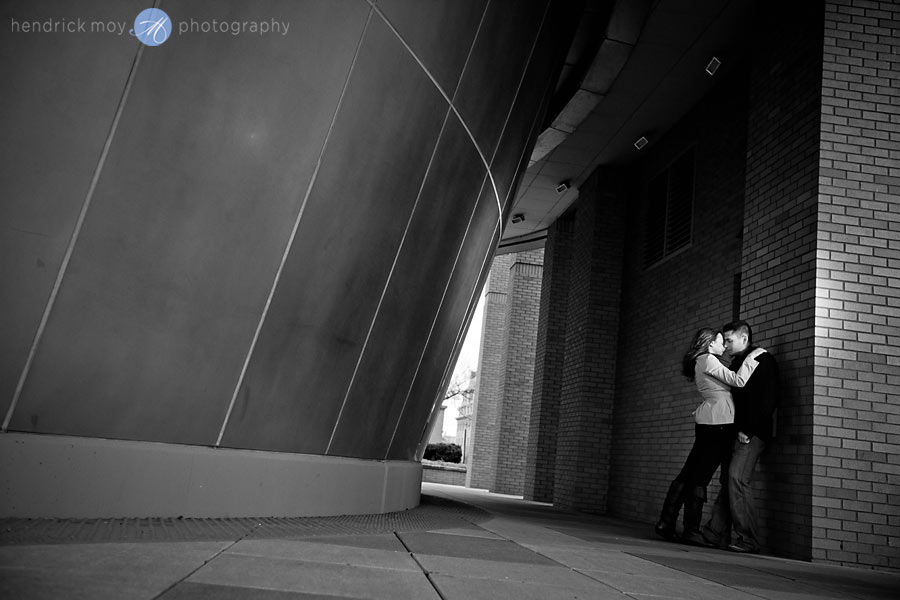 CAROLINE AND JUSTIN'S STEVENS INSTITUTE ENGAGEMENT SESSION | HOBOKEN, NJ WEDDING PHOTOGRAPHER