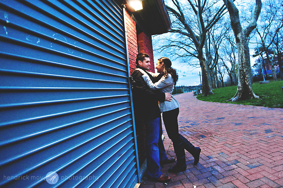 Stevens Institute New Jersey Engagement Session 7 CAROLINE AND JUSTIN'S STEVENS INSTITUTE ENGAGEMENT SESSION | HOBOKEN, NJ WEDDING PHOTOGRAPHER