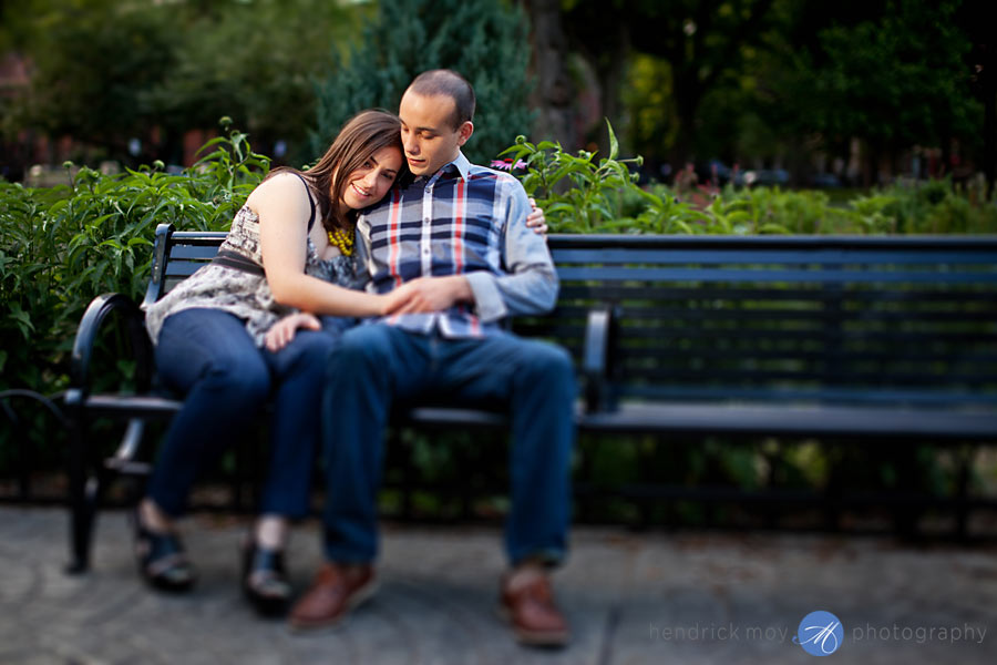 MALENA AND TONY'S ENGAGEMENT SESSION | JERSEY CITY, NJ WEDDING PHOTOGRAPHER