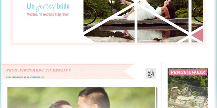 FEATURED ON UN-JERSEY BRIDE | NJ WEDDING PHOTOGRAPHER