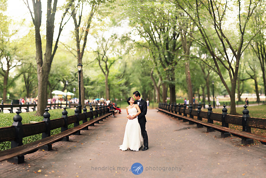 Central-Park-Mall-Wedding-Photography-Brenizer Method-Bokeh Panorama