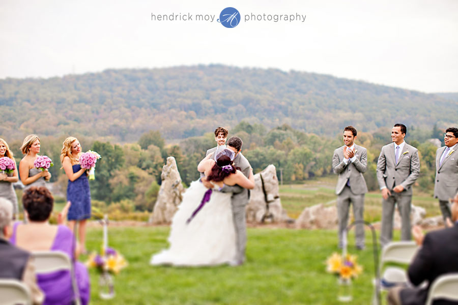 NJ-Wedding-Alba-Vineyard-first-kiss-tilt-shift