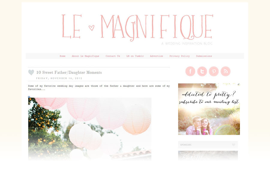 FEATURED ON LE MAGNIFIQUE | NEW JERSEY WEDDING PHOTOGRAPHER