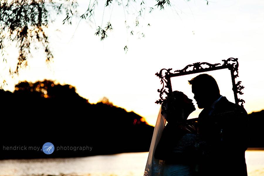 33-White-Meadow-Lake-House-Country-Club-wedding-bridal-portraits-silhouette