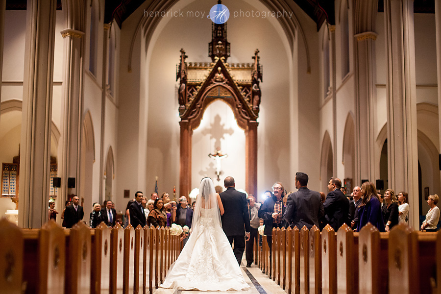 st. paul church sanctuary wedding hendrick moy photography