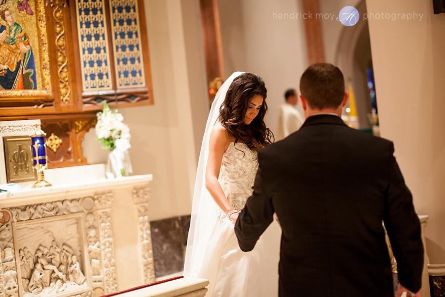 wedding at st. paul church nj hendrick moy photography