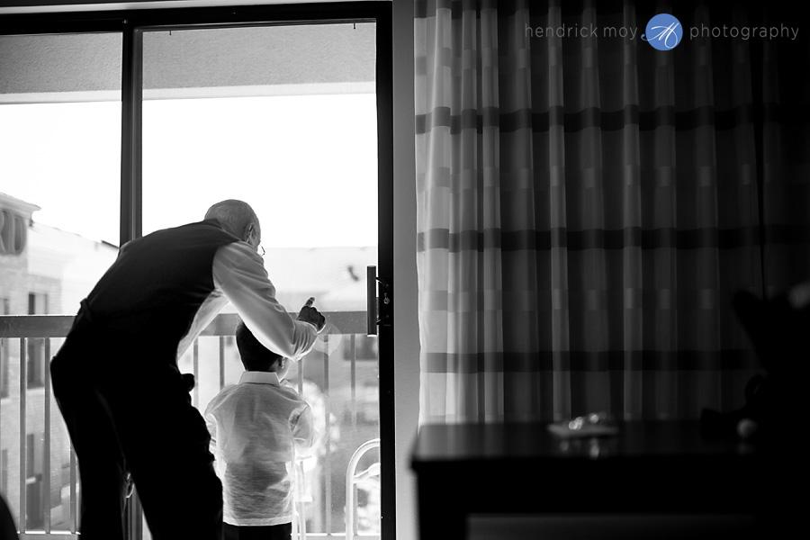 Glen Ridge NJ wedding photographer tender moment