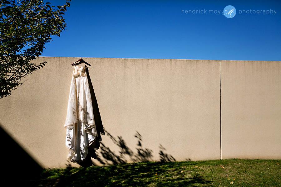 Glen Ridge NJ wedding photographer wedding dress