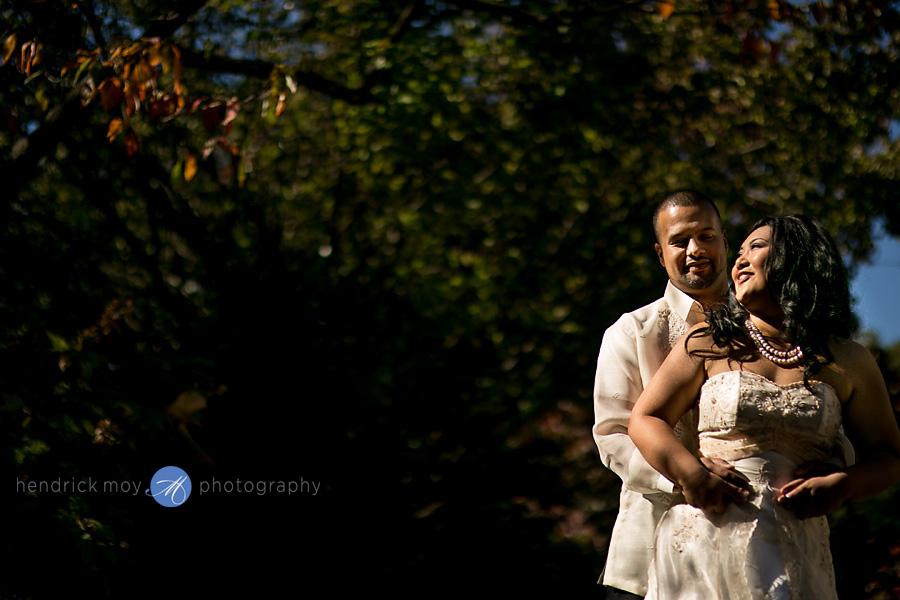 Glen Ridge NJ wedding photographer wedding portrait natural light