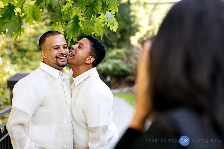 Glen Ridge NJ wedding photographer groom best man