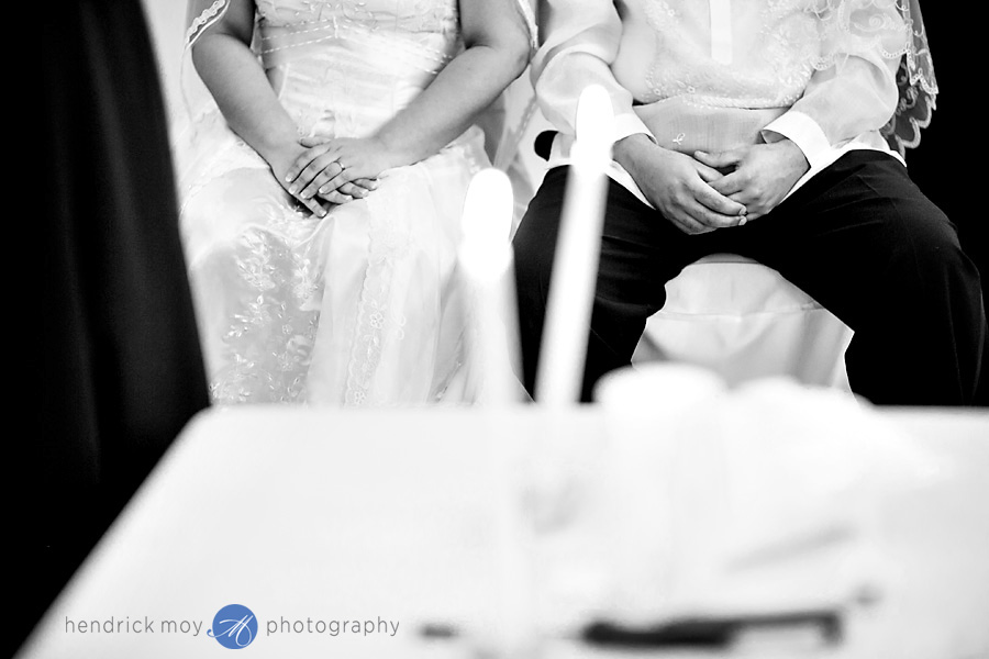 Glen Ridge NJ wedding photographer filipino ceremony