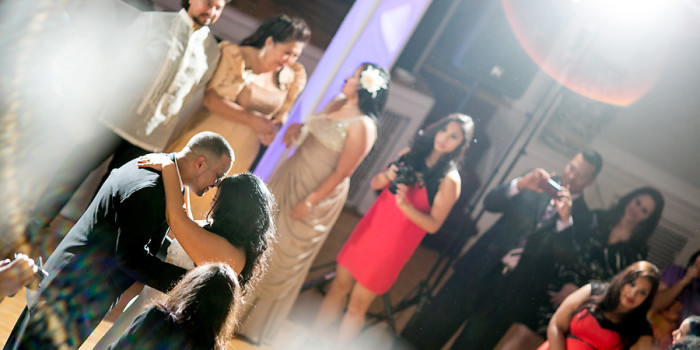 Glen Ridge NJ wedding photographer first dance