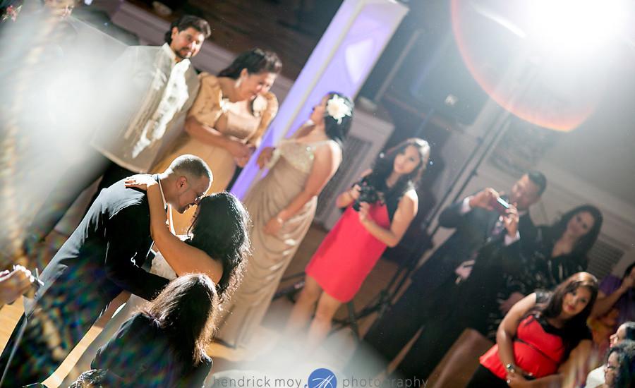 Glen Ridge NJ wedding photographer first dance