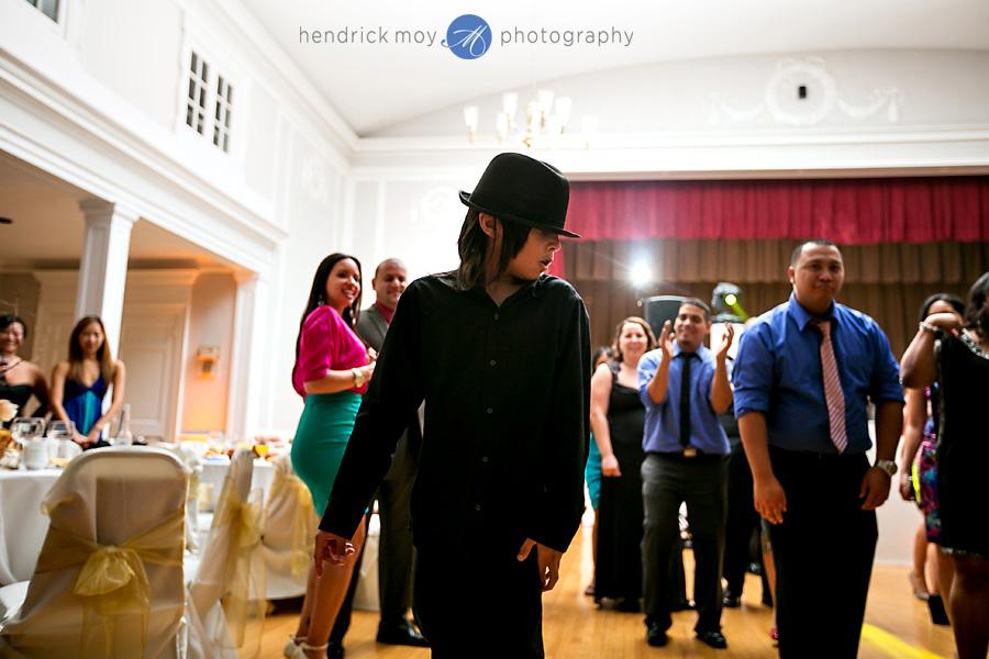 Glen Ridge NJ wedding photographer michael jackson kid