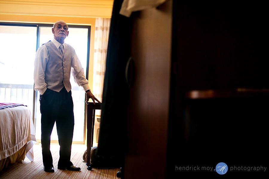 Glen Ridge NJ wedding photographer groom's father