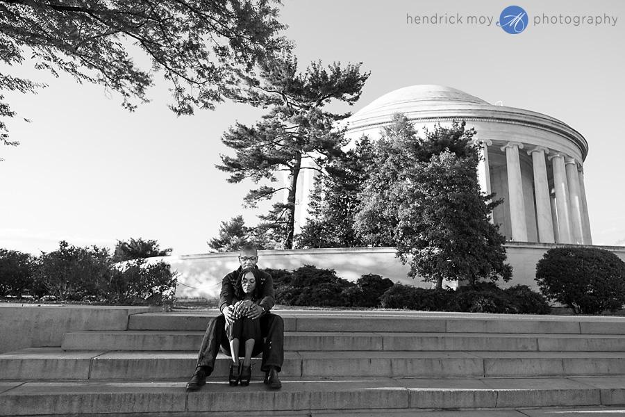 hendrick moy photography jefferson memorial engagement