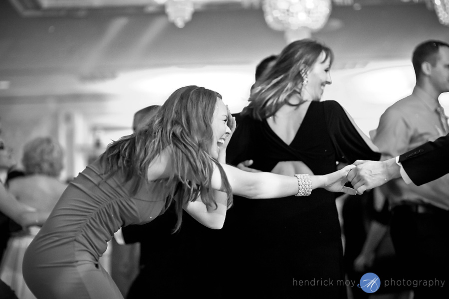 Tides Estate NJ Wedding pictures guests reception