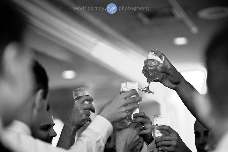 Tides Estate NJ Wedding pictures toast
