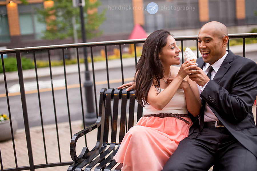 Roosevelt Island engagement photographer nyc