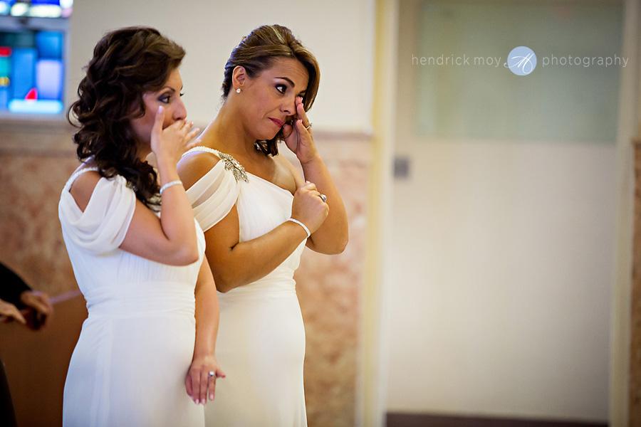 Our-Lady-Fatima-Newark-NJ-Wedding-Photographer-Hendrick-Moy-bridesmaids-crying