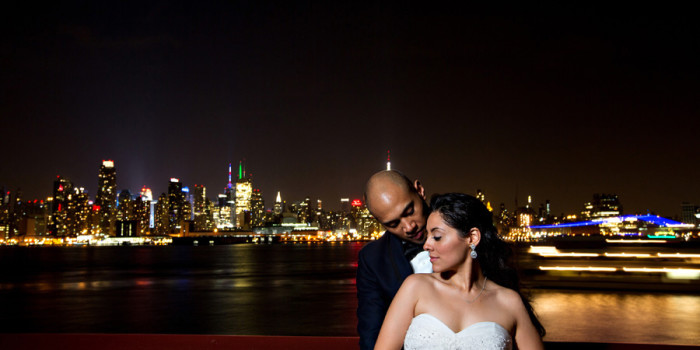 Weehawken Chart House NJ Wedding Photography