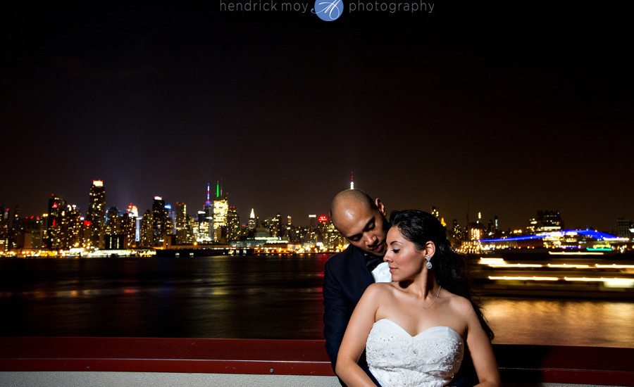 Weehawken Nj Wedding Photographer Chart House Wedding