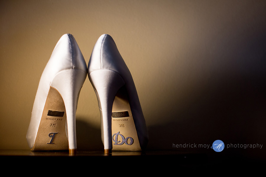 Villa Barone Bronx wedding photographer westchester badgley mischka shoes