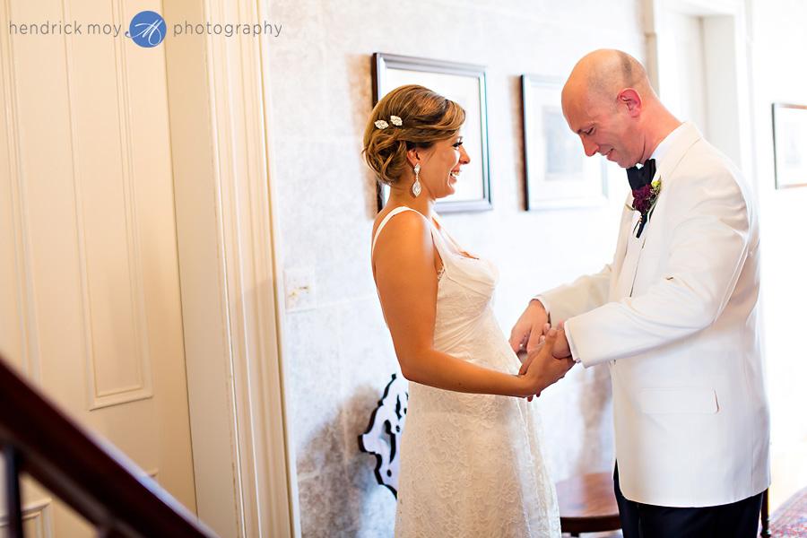 hudson valley wedding photographer ham house new york first look