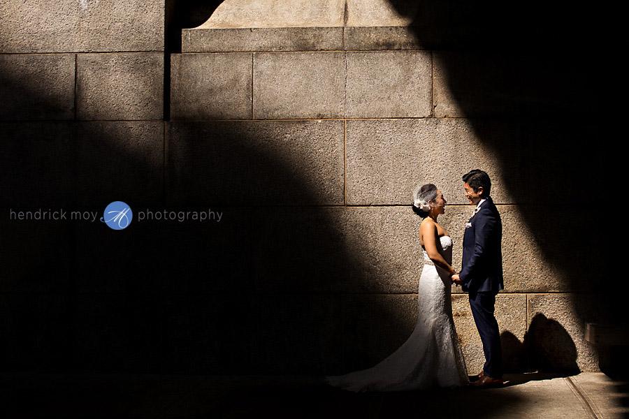 dumbo wedding portraits nyc hendrick moy