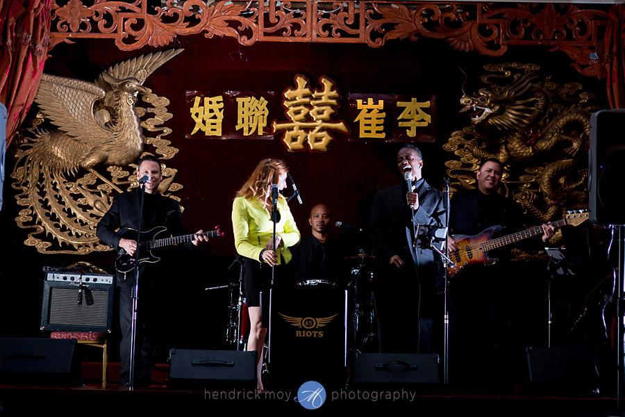 grand harmony palace wedding nyc hendrick moy photography 45 riots band