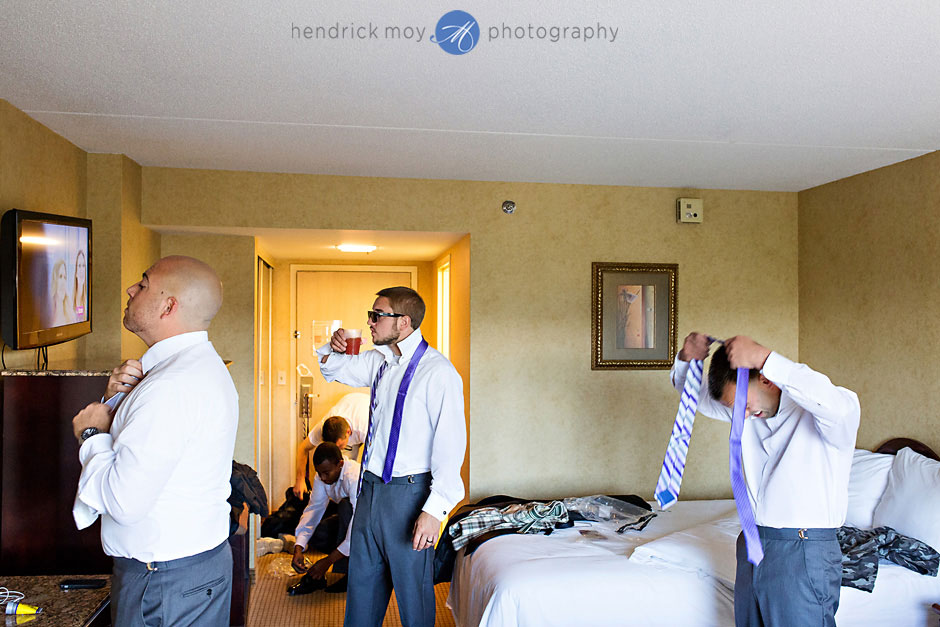poughkeepsie grand hotel groom getting ready