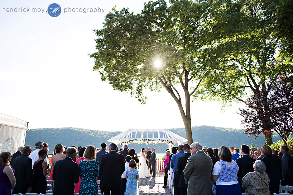 hudson valley grandview wedding ceremony