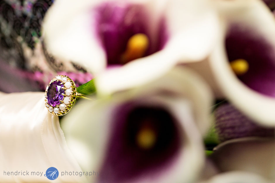 purple ring heirlook wedding photography grand hotel poughkeepsie