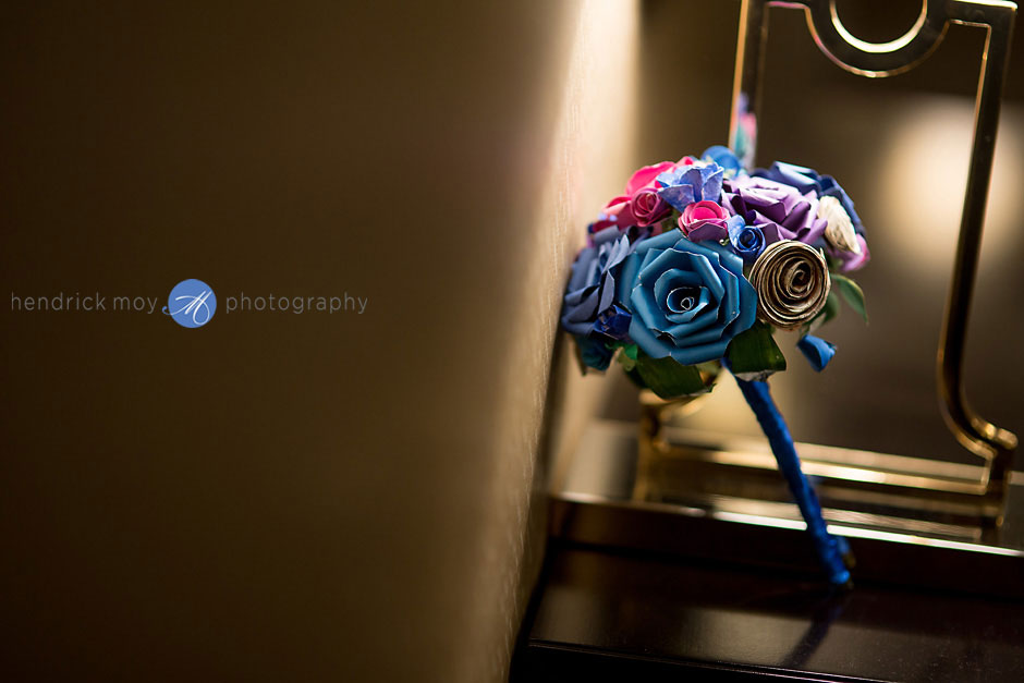 Wedding Origami Bouquet photography ny
