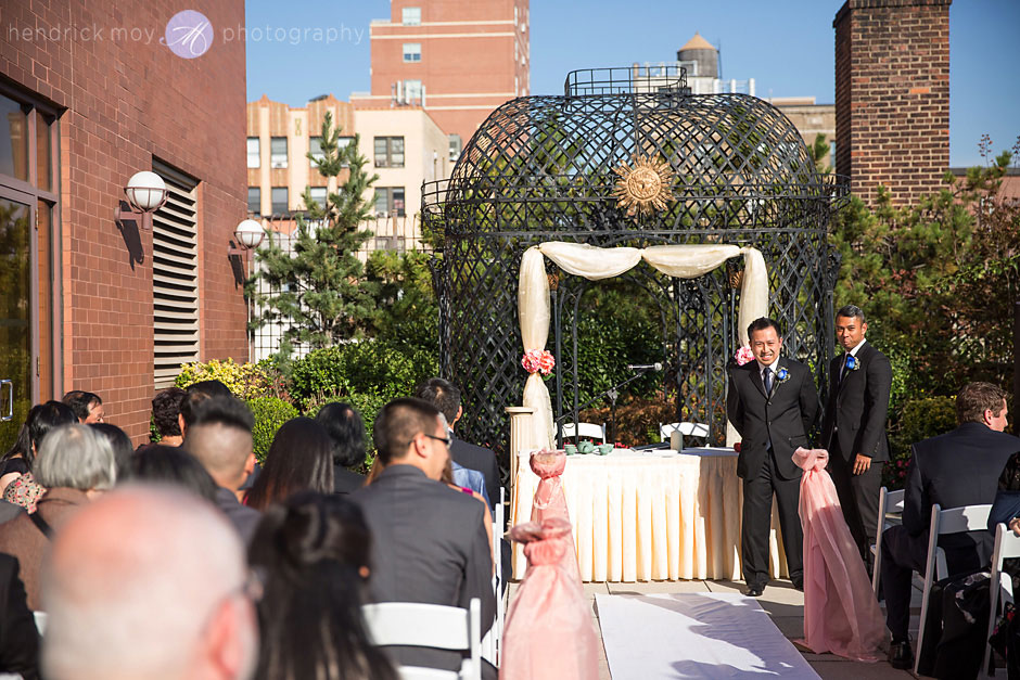 sheraton wedding ceremony photography  flushing ny
