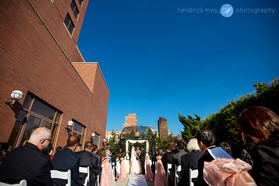 photographer wedding ceremony  ny hendrick moy