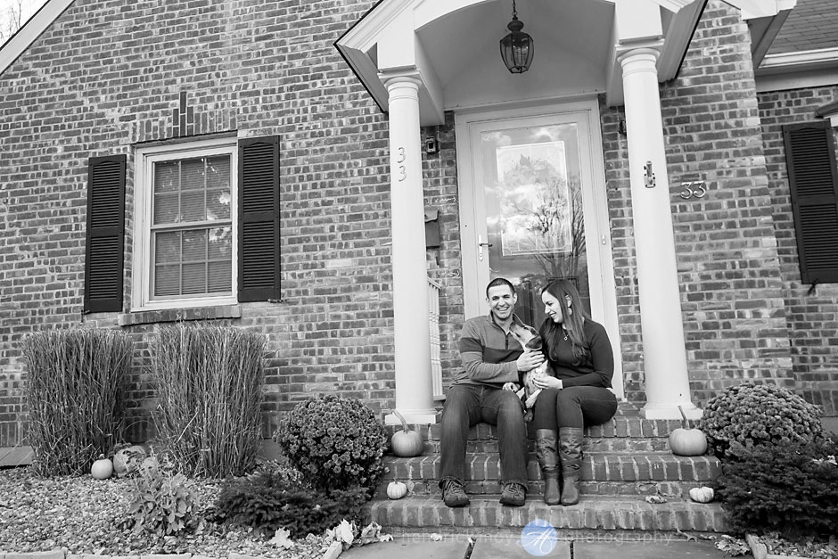 autumn engagement photographer westchester