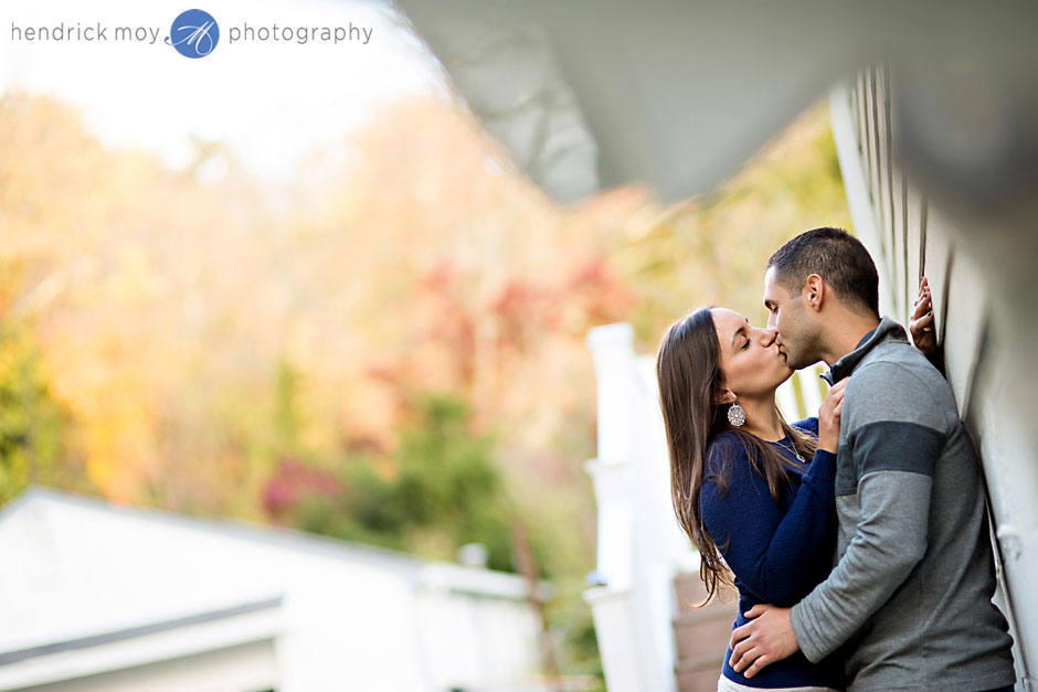 westchester autumn engagement photographer