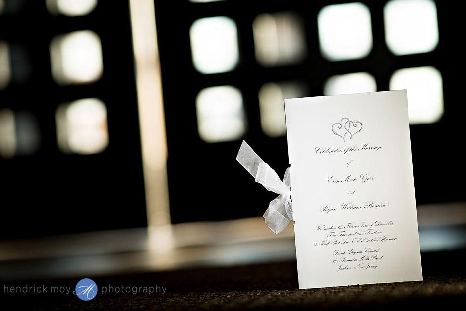 St. Aloysius Church nj wedding ceremony