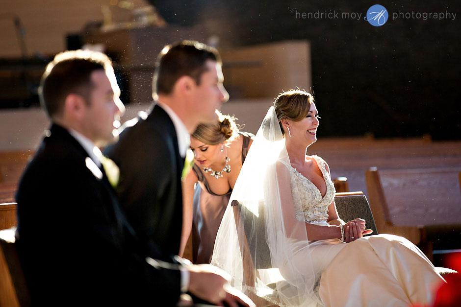 St. Aloysius Church nj wedding ceremony photography