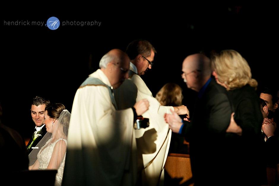 St. Aloysius Church wedding ceremony