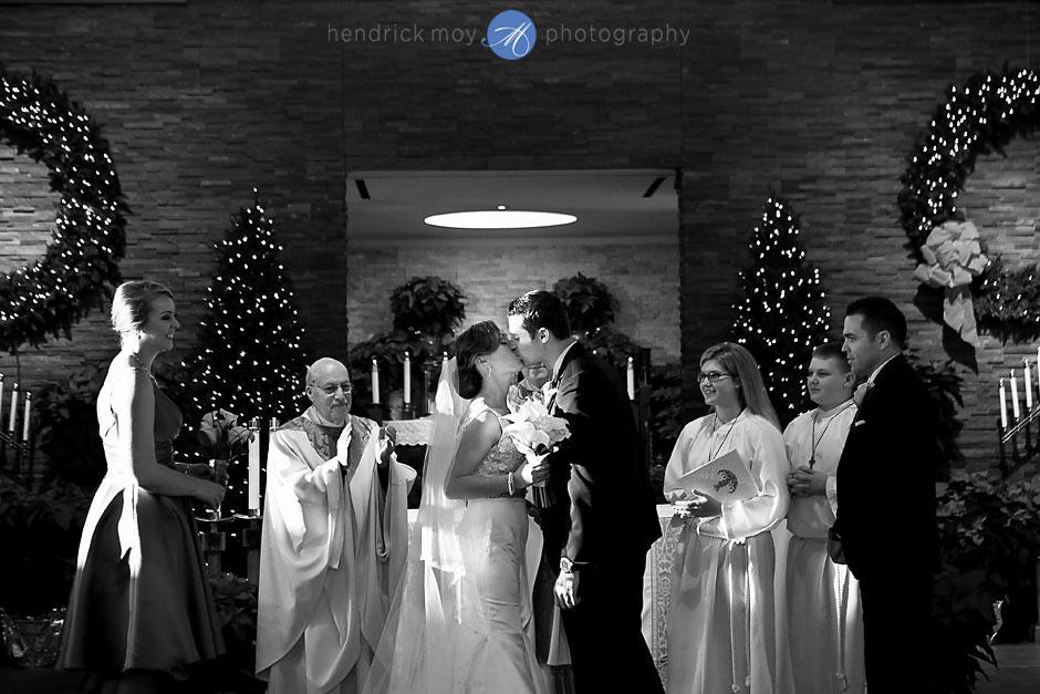 St. Aloysius Church wedding photography