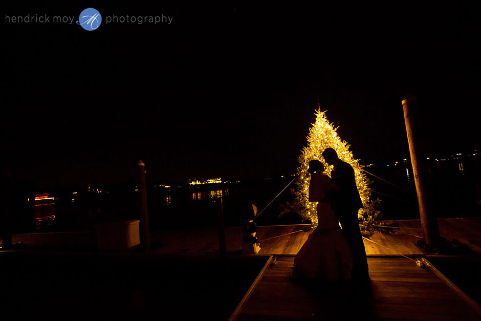 winter oyster point hotel nj wedding photography