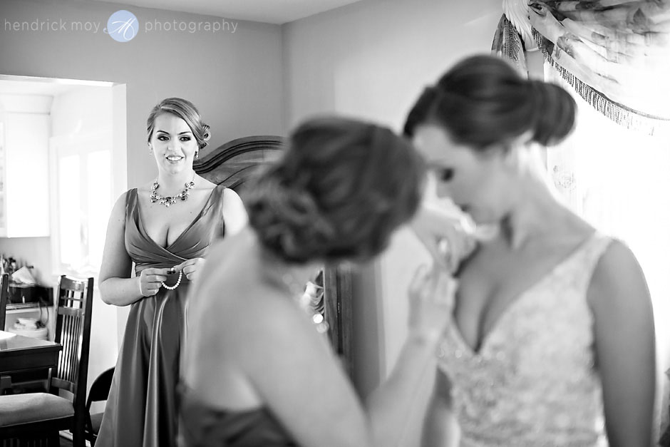 red bank wedding photography maid of honor