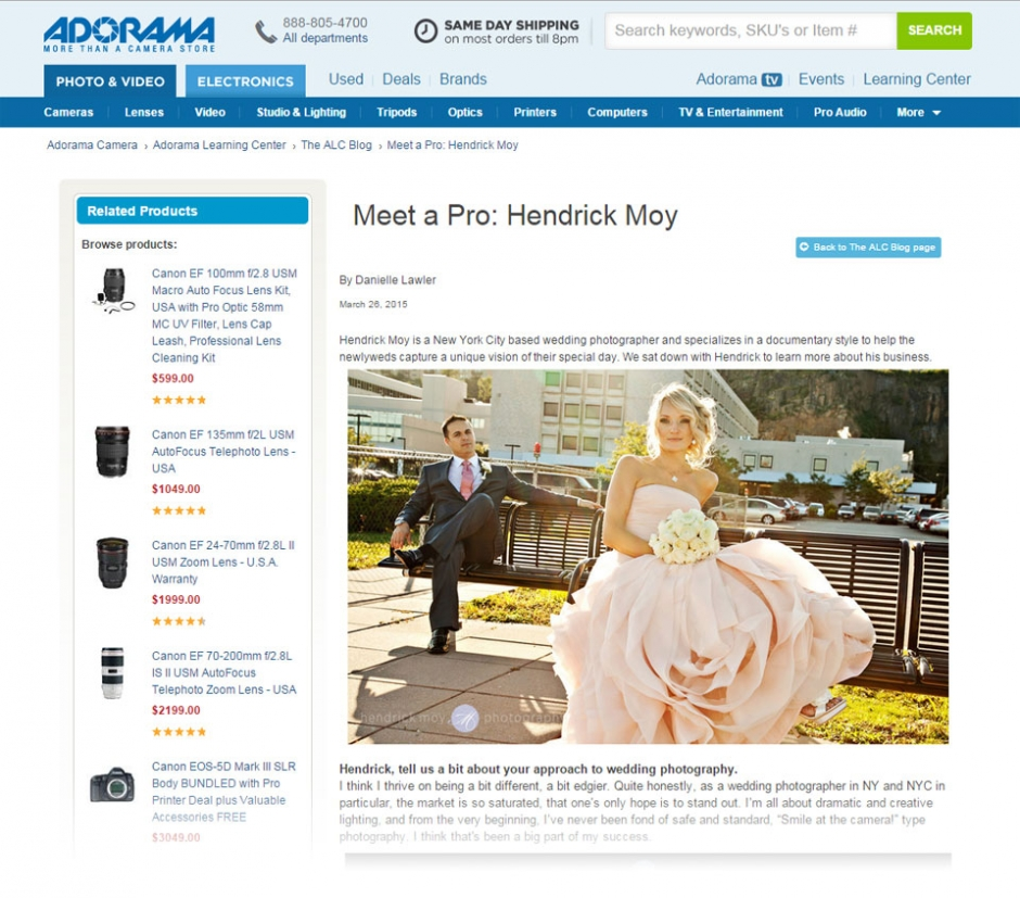 nyc featured wedding photography hendrick moy