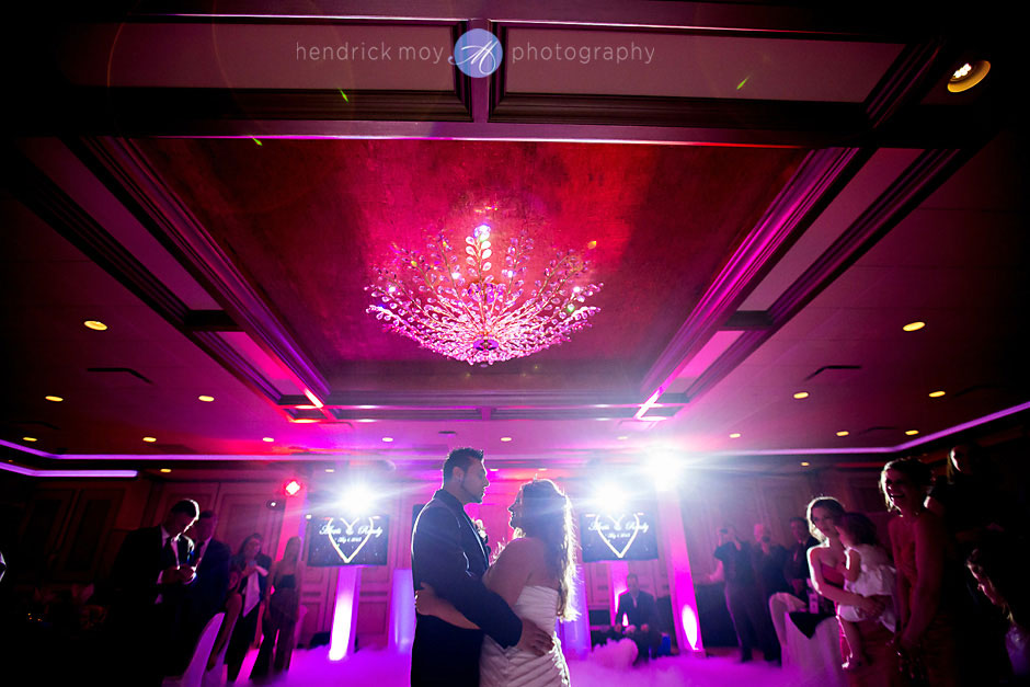 first dance wedding villa borghese hendrick moy